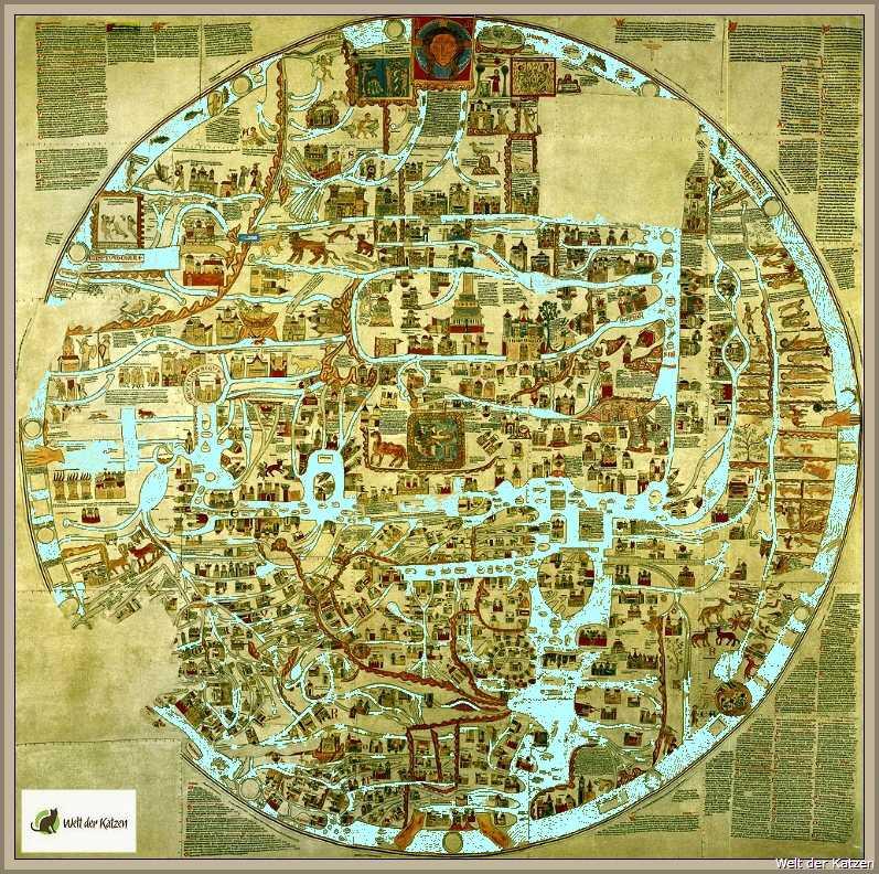 die ebstorfer weltkarte historische Dokumente | Ebstorfer Weltkarte